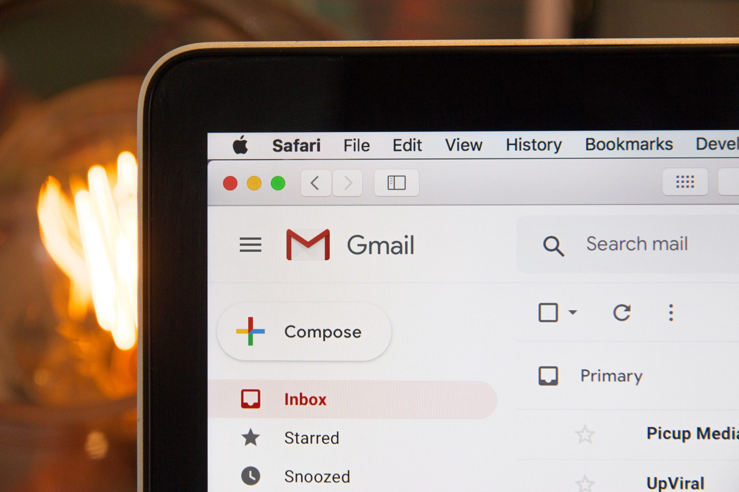 Email marketing inbox