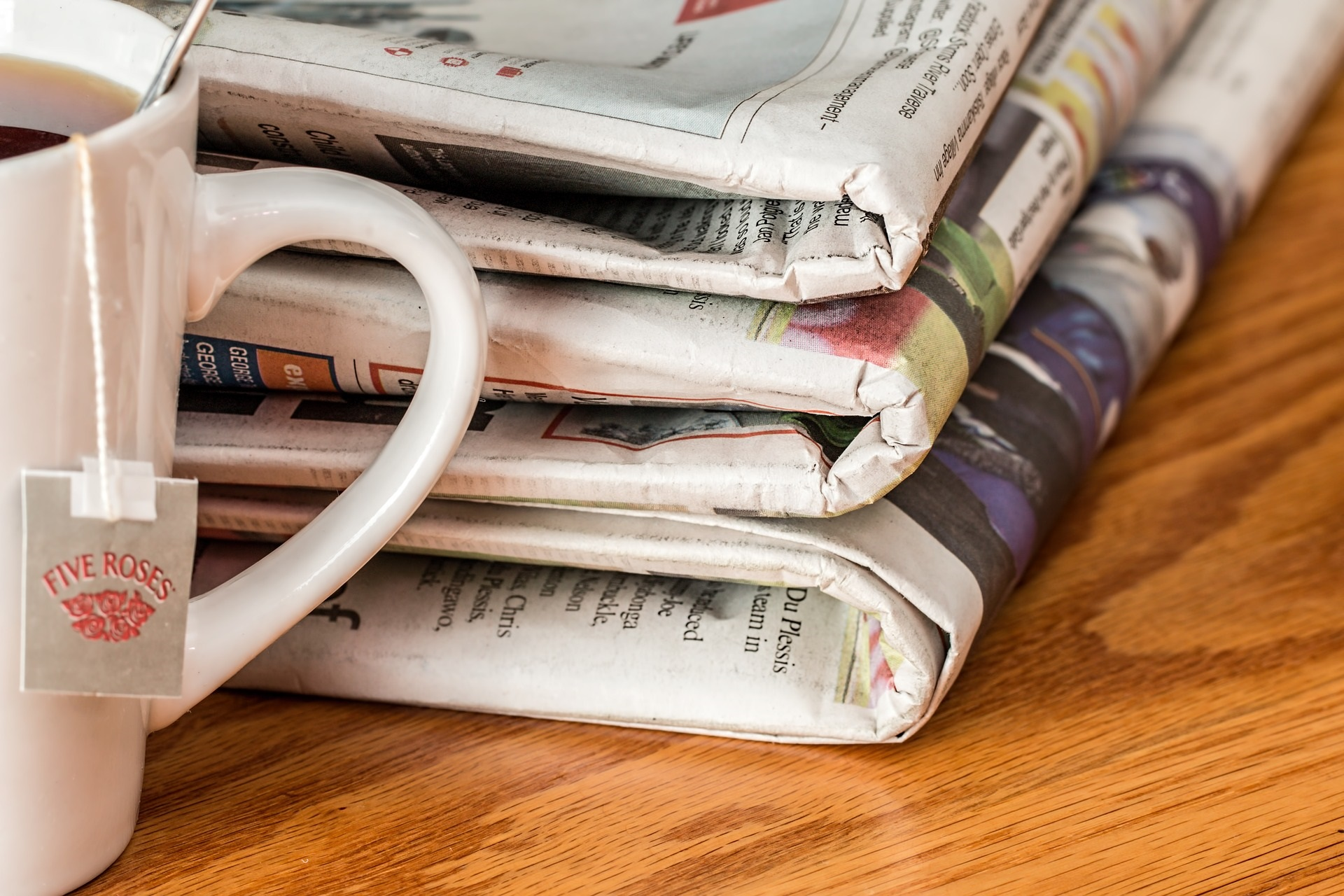 Newspapers which need good PR content