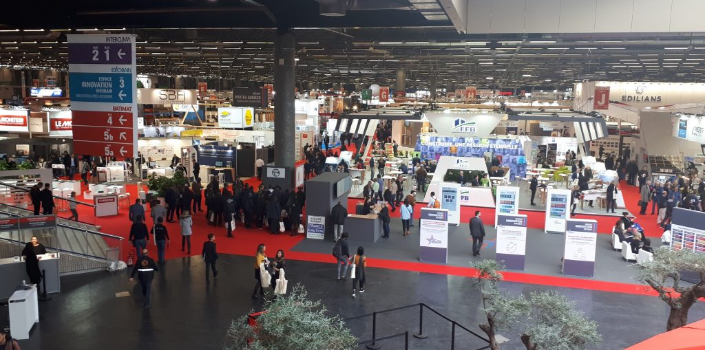 Batimat 2019 - the French construction industry exhibition.